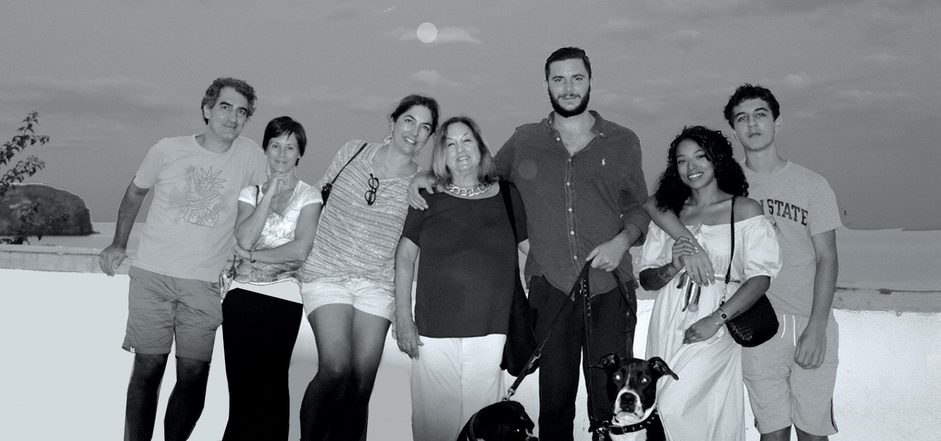 Anastasia Bizzarri and family